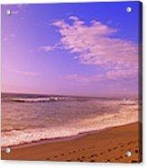 Waves On The Beach, North Beach, Point Acrylic Print