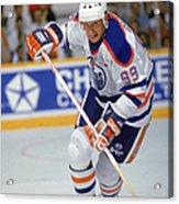 Wayne Gretzky In Action Acrylic Print