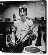Wayne Gretzkys Last Wha Game Acrylic Print