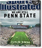 We Are Still Penn State Sports Illustrated Cover Acrylic Print