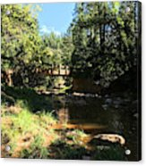 Webber Creek Bridge Acrylic Print