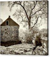 Weikert House At Gettysburg Acrylic Print