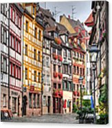 Weissgerbergasse, Nuremberg Acrylic Print