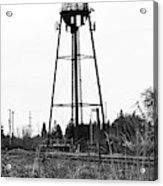 Weldwood Water Tower Acrylic Print