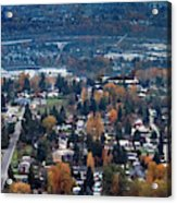 Wenatchee In November Acrylic Print