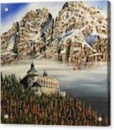 Werfen Austria Castle In The Clouds Acrylic Print