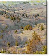 West Dakota Hills Reverie Acrylic Print