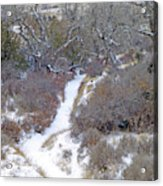 West Dakota January Prairie Acrylic Print