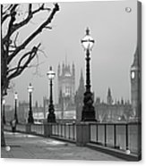 Westminster At Dawn, London Acrylic Print