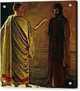 What Is Truth Christ And Pilate Acrylic Print