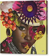 When African Eyes Are Smiling Acrylic Print