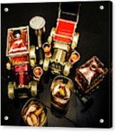 Whisky Wagons Acrylic Print