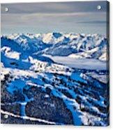 Whistler In Winter Acrylic Print