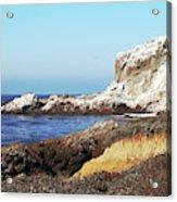 The White Rocks Of Piedras Blancas Acrylic Print
