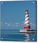 White Shoal Lighthouse 20 Acrylic Print