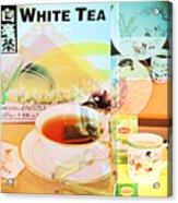 White Tea Blend  Acrylic Print