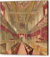 Whitehall Chapel, C1845 Acrylic Print