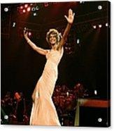 Whitney Houston Performing At Paris Acrylic Print