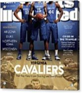 Who Can Catch The Cats Virginia Cavaliers, Their Key Keep Sports Illustrated Cover Acrylic Print