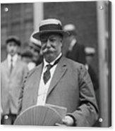 William H. Taft Holding Fan Acrylic Print