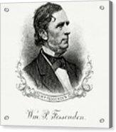 William P. Fessenden Acrylic Print