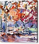 Williamsburg Color Acrylic Print