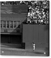 Willie Mays Makes His Famous Catch Off Acrylic Print