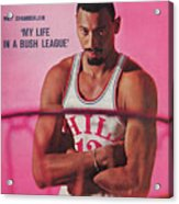 Wilt Chamberlain my Life In A Bush League Sports Illustrated Cover Acrylic Print