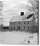 Winter At Noyes House Acrylic Print