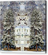 Winter At The Susanville Elks Lodge Acrylic Print