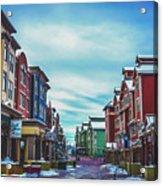 Winter Morning - Park City, Utah Acrylic Print