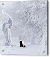Winter Solstice Holiday Card Acrylic Print