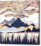 Winter's Sky Acrylic Print