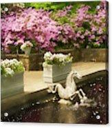 Winterthur Spring Pond Acrylic Print