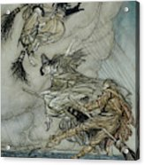 Witches, 1907 Acrylic Print