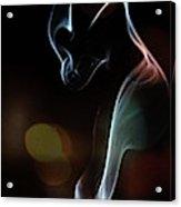 Wolf Cub - Smoke Photography Acrylic Print