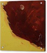 Woman In Moonlight Acrylic Print