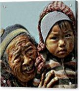 Women Of Nepal - Series Acrylic Print