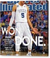 Won. Done. 2015 Ncaa Champions Sports Illustrated Cover Acrylic Print