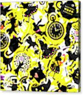 Wonderland Design Acrylic Print