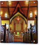 Woodstown Church Acrylic Print