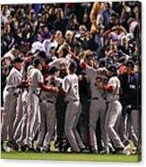 World Series Boston Red Sox V Colorado Acrylic Print