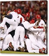 World Series Game 5 St. Louis Cardinals Acrylic Print