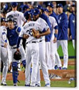 World Series - Houston Astros V Los Acrylic Print