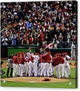 World Series Tampa Bay Rays V Acrylic Print
