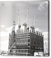 World Trade Center Under Construction Acrylic Print