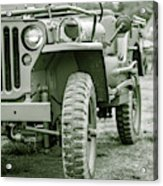 World War II Era Us Army Jeep Acrylic Print