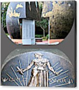 World War 2 Memorial Savannah Acrylic Print