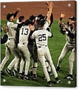 Yankees Celebrate Acrylic Print