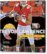 Year Of The Qb Clemson University Trevor Lawrence, 2019 Sports Illustrated Cover Acrylic Print